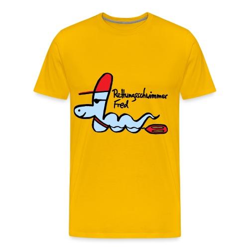 Rettungsschwimmer Fred - Männer Premium T-Shirt