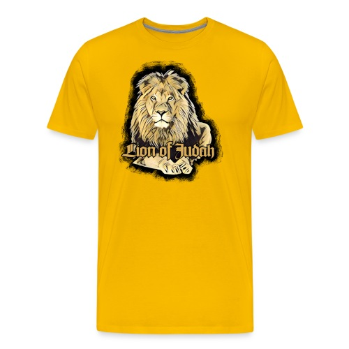 Lion of Judah - Rastafarai - Männer Premium T-Shirt