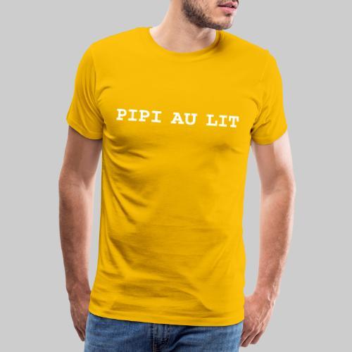 PIPI AU LIT FRONT NEGATIV - Männer Premium T-Shirt