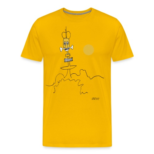 Station-radoïde - T-shirt Premium Homme