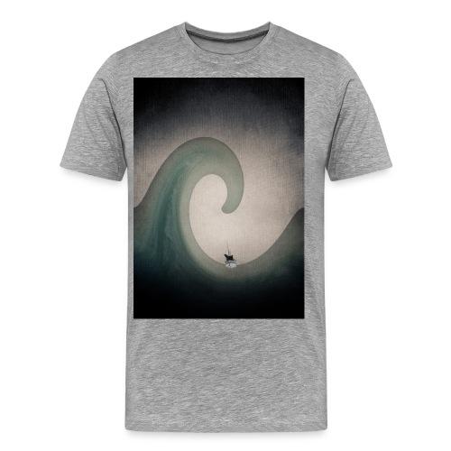 JamesCaird wave - Men's Premium T-Shirt