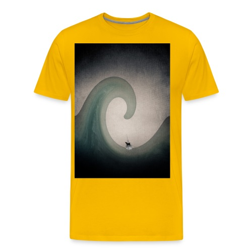 JamesCaird wave - Men's Premium T-Shirt