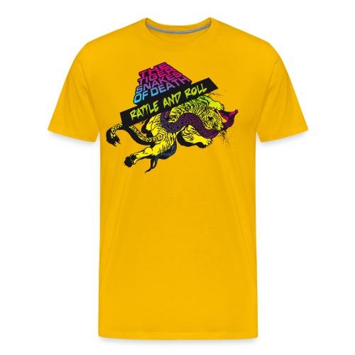 Rattle and Roll - Männer Premium T-Shirt