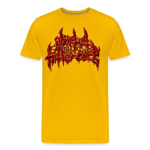 AxHxCx Logo in Haematoma Red - Men's Premium T-Shirt