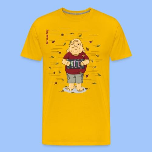 Mitte halten - Männer Premium T-Shirt