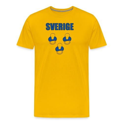 Sverige - Tuttipaita - Miesten premium t-paita