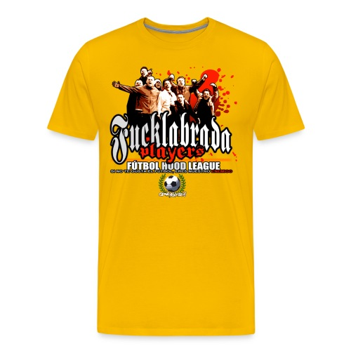 camiseta fucklabrada players copia - Camiseta premium hombre