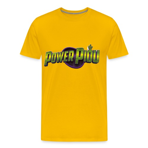 Power Piou Logo png - T-shirt Premium Homme