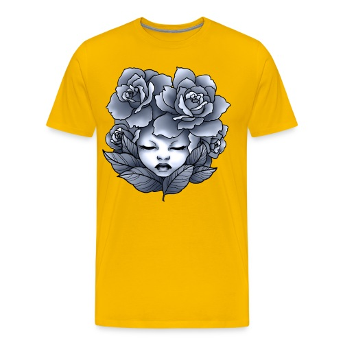 Flower Head - T-shirt Premium Homme