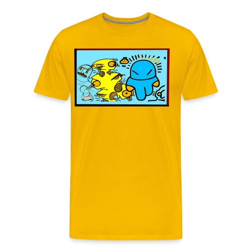 Streetart 2004 NOMAD - Männer Premium T-Shirt