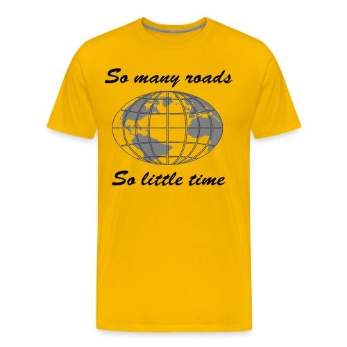 so many roads - T-shirt Premium Homme