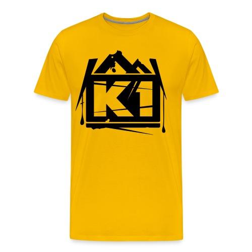k1 - Mannen Premium T-shirt