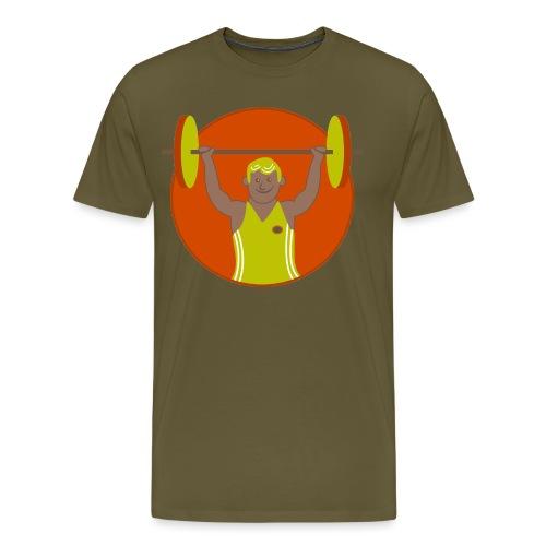 Motivation musculation - T-shirt Premium Homme