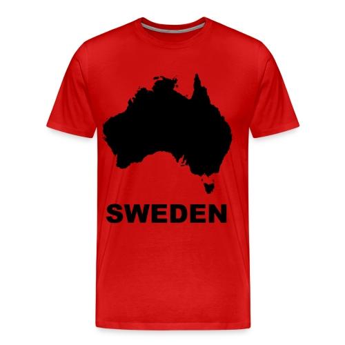 australia - Premium-T-shirt herr