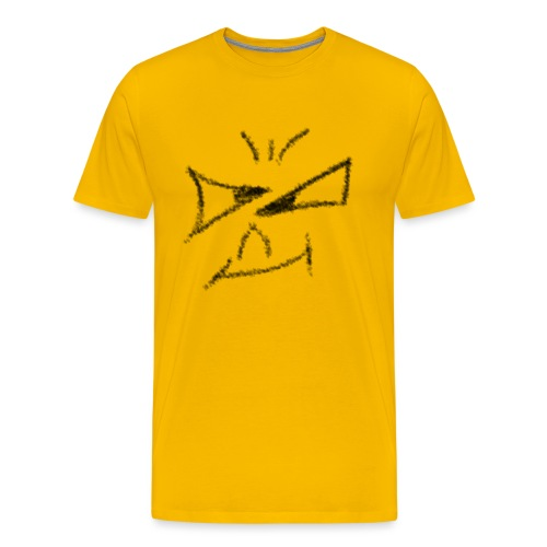 Böses Smile - Männer Premium T-Shirt