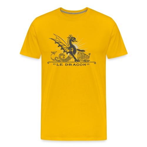 crumiere dragon grey - T-shirt Premium Homme