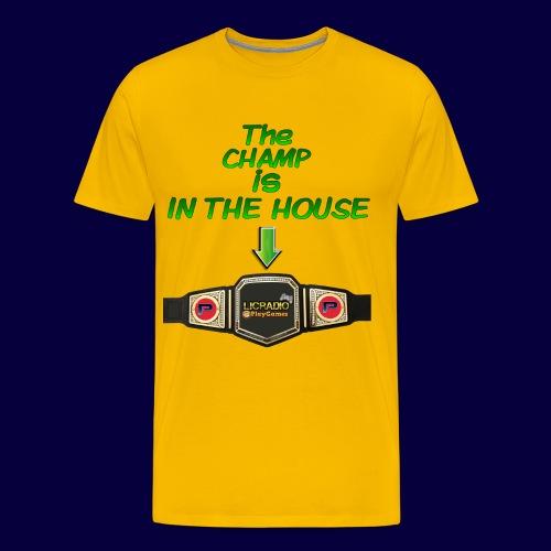 Champ House - Männer Premium T-Shirt