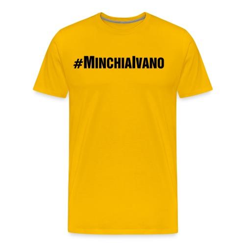 IVANO NERA png - Maglietta Premium da uomo