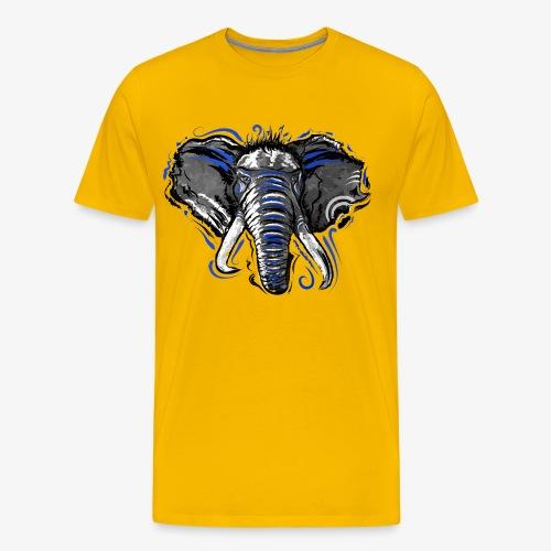 Natural Instinct Éléphant - T-shirt Premium Homme