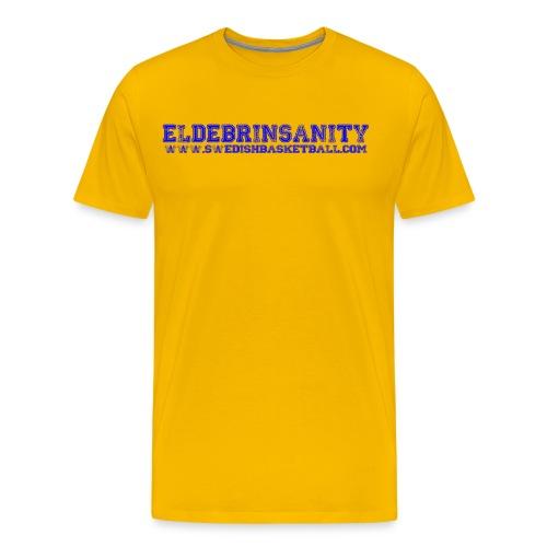 Eldebrinsanity - Premium-T-shirt herr