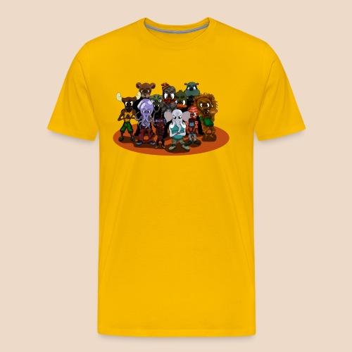 Le Gang des Animaux - T-shirt Premium Homme