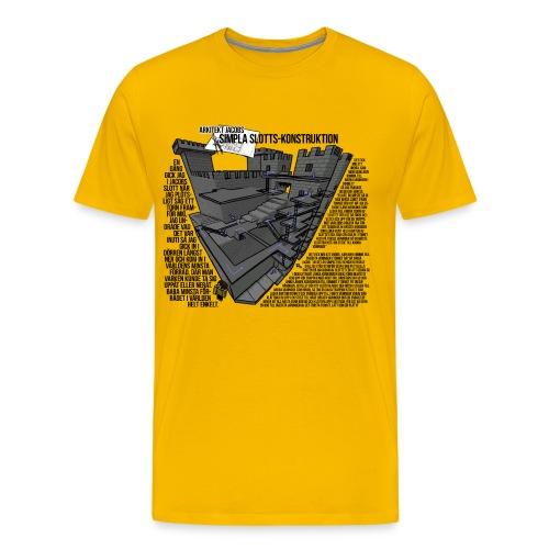 Jacobs Slott - Premium-T-shirt herr