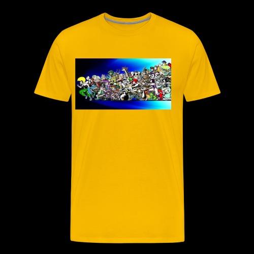 TREXeSAM ANK ROSTER - Maglietta Premium da uomo