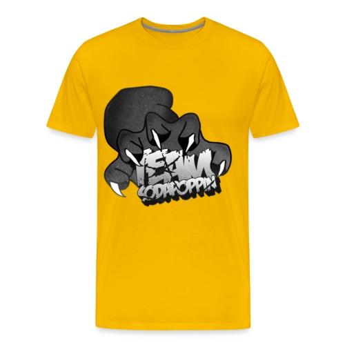 black and white png - Men's Premium T-Shirt