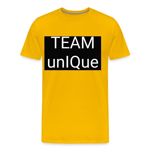 UNIQUE EXTRA DELTA POWER - Männer Premium T-Shirt