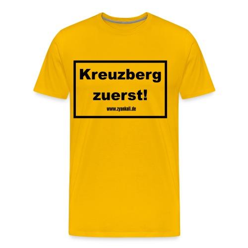 Kreuzberg zuerst - Männer Premium T-Shirt
