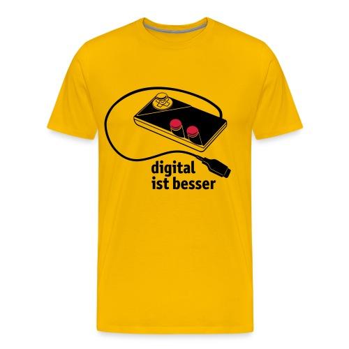digitaljoypad - Männer Premium T-Shirt