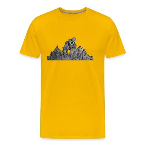 The Watcher Awakes - Men's Premium T-Shirt