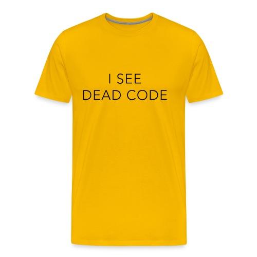 i see dead code - Men's Premium T-Shirt