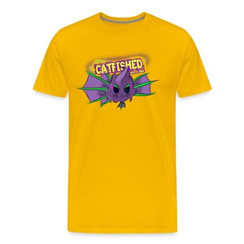 cat fish - Men's Premium T-Shirt