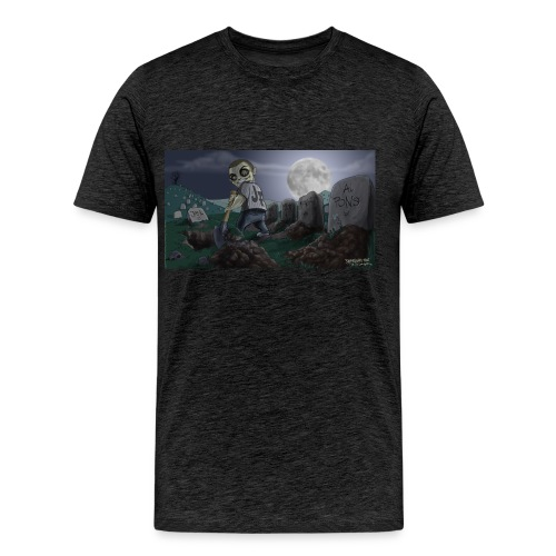 Graveyard2full jpg - Männer Premium T-Shirt
