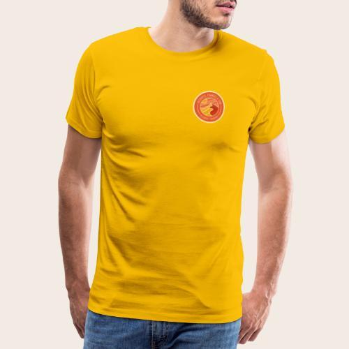 Deserts, Camels & Sun - Badge - T-shirt Premium Homme