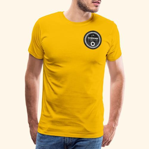 Logo Fotofreunde - Männer Premium T-Shirt
