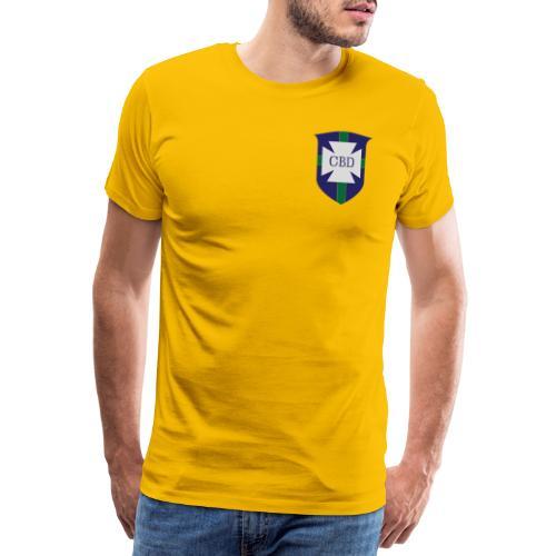 Mondiali di calcio 1970 celebrativa Brasile - Maglietta Premium da uomo