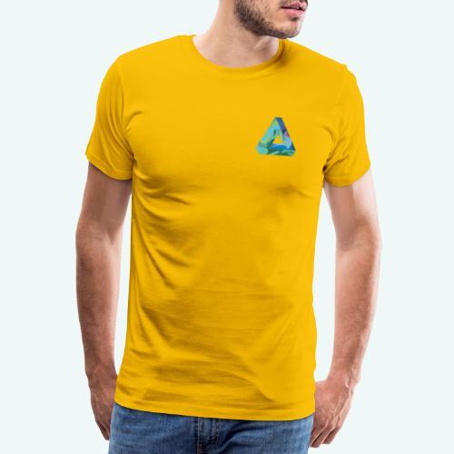 psychedlic triangle - Männer Premium T-Shirt