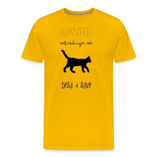Schrödinger cat - Camiseta premium hombre
