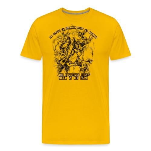no stress png - Männer Premium T-Shirt