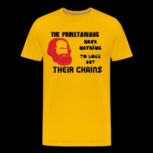 Karl Marx - Camiseta premium hombre