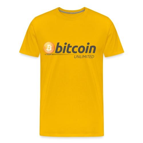 Bitcoin Unlimited - Maglietta Premium da uomo