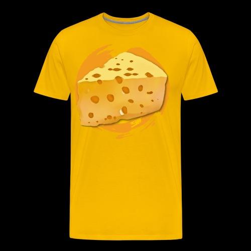 Cheese HD png - Herre premium T-shirt