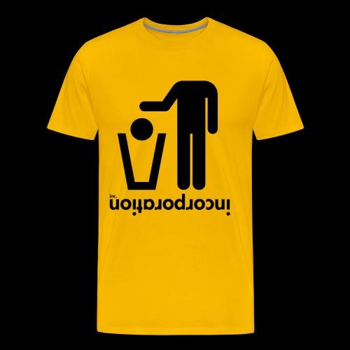 inctrashead03 png - T-shirt Premium Homme