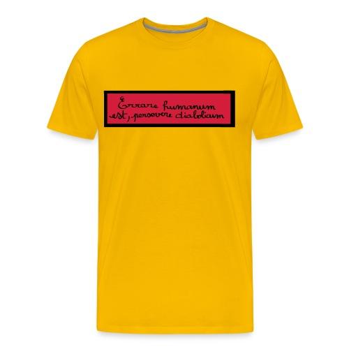 disign - T-shirt Premium Homme
