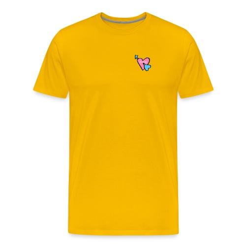 Spicious love logo - Mannen Premium T-shirt