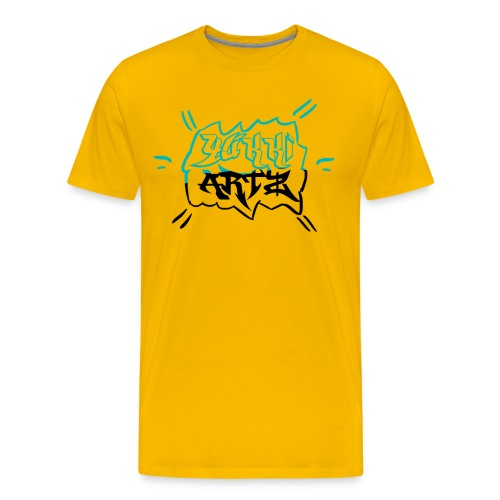 YukkiArtz MouseMat - Men's Premium T-Shirt