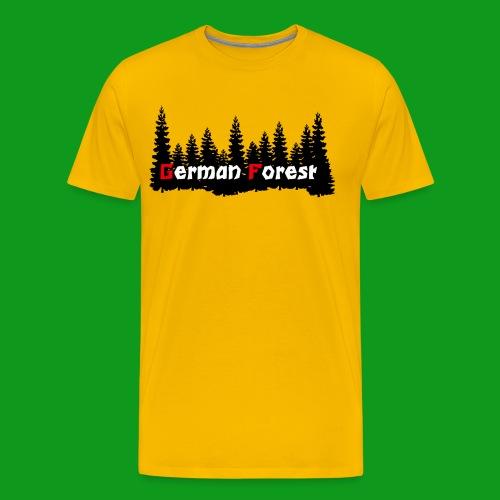 GermanForest png - Männer Premium T-Shirt