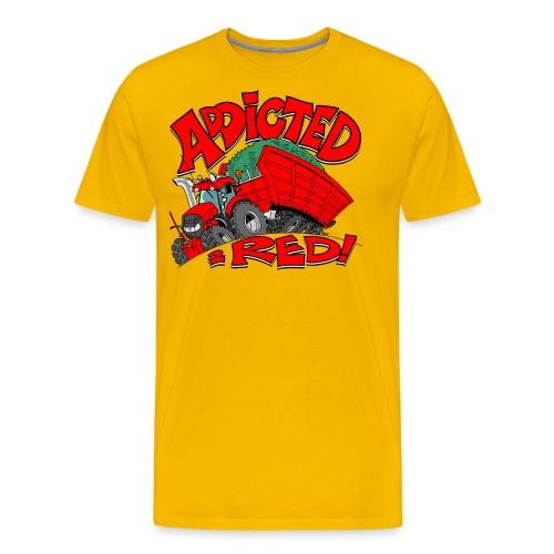 Addicted2RED - Mannen Premium T-shirt